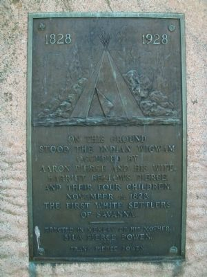 Pierce Wigwam Marker image. Click for full size.