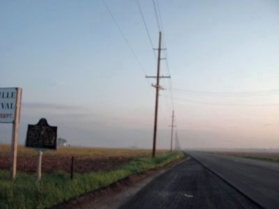 'Foggy' - North View - - First Indiana Natural Gas Well Marker image. Click for full size.