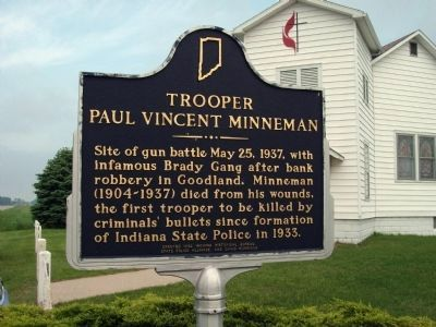 Trooper Paul Vincent Minneman Marker image. Click for full size.