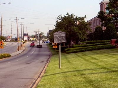Wide view of the Charles A. Cannon Marker image. Click for full size.
