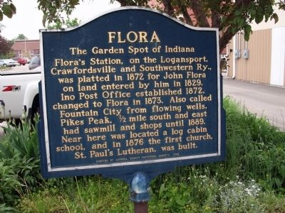 Obverse View - - Flora Marker image. Click for full size.