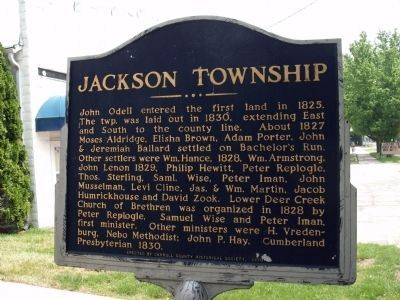 Jackson Township image. Click for full size.