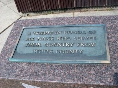 White County War Memorial Marker image. Click for full size.