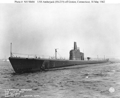 USS Amberjack image. Click for full size.