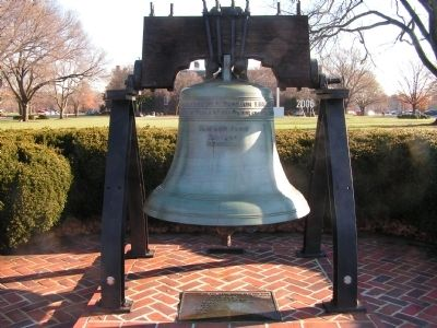 Liberty Bell image. Click for full size.