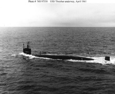 USS Thresher image. Click for full size.