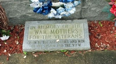 War Mothers - - Pulaski County Honor Roll Memorial Marker image. Click for full size.