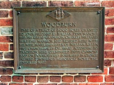 Woodburn Marker image. Click for full size.