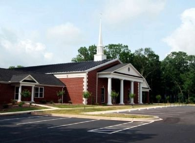 Mountain Creek Baptist Church -<br>Rebuild Sanctuary image. Click for full size.
