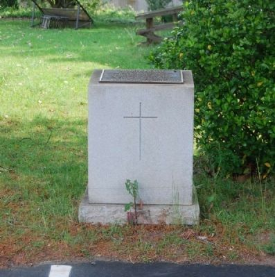 Mountain Creek Baptist Church Marker -<br>Current Location image. Click for full size.