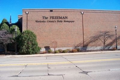 The Waukesha Freeman Building image. Click for full size.