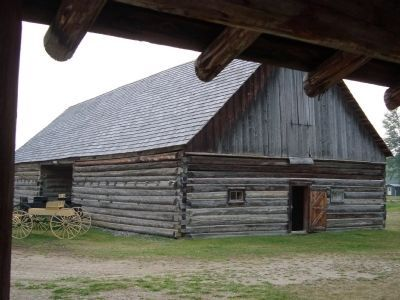 Cottonwood House barn image. Click for full size.