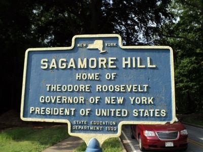 Sagamore Hill Marker image. Click for full size.