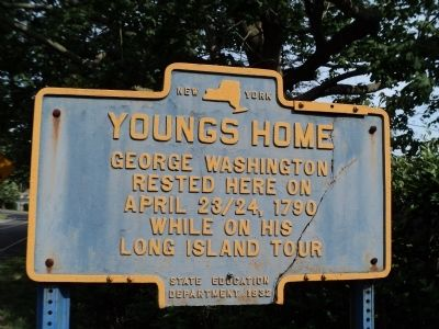 Youngs Home Marker image. Click for full size.