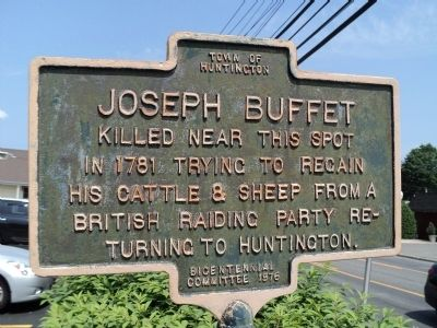 Joseph Buffet Marker image. Click for full size.
