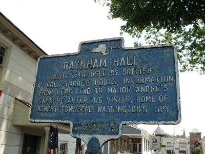 Raynham Hall Marker image. Click for full size.