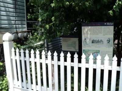 Marker in Oyster Bay image. Click for full size.
