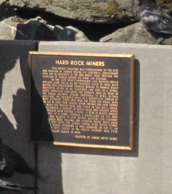 Hard Rock Miners Marker image. Click for full size.