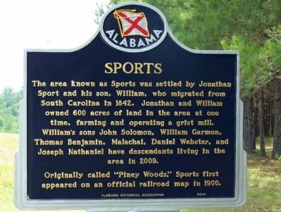 Sports Marker image. Click for full size.