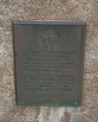 Alaska Highway Marker (left) image. Click for full size.