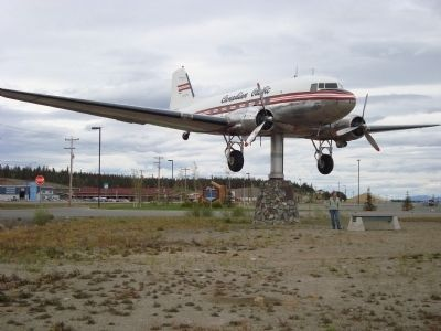 The World's Largest Windvane, a DC3. image. Click for full size.