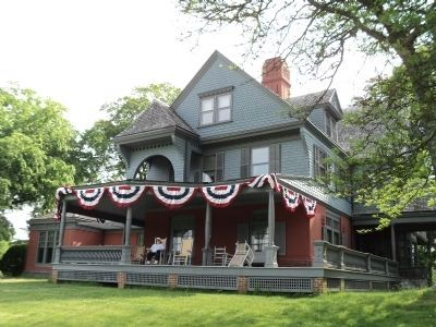 Theodore Roosevelt's Home on Sagamore Hill image. Click for full size.