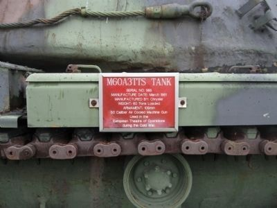 Plaque on Tank image. Click for full size.