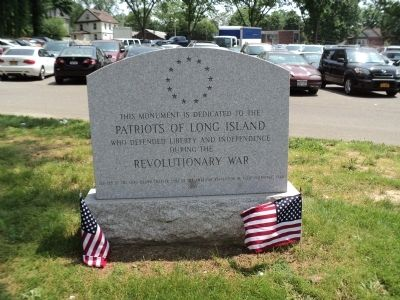 Patriots of Long Island Marker image. Click for full size.