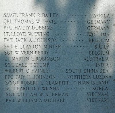 Oak Grove Veterans Memorial Marker image. Click for full size.