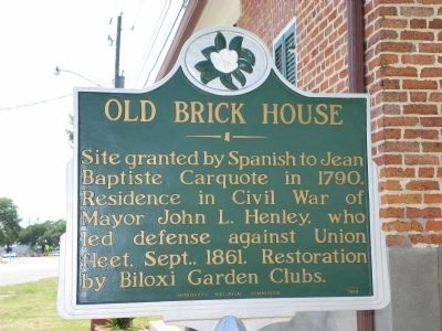 Old Brick House Marker image. Click for full size.