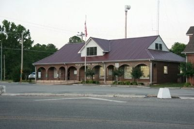 Arley, Alabama Town Hall image. Click for full size.