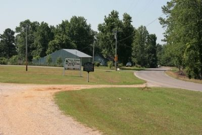 Piney Ridge School Marker (South View) image. Click for full size.