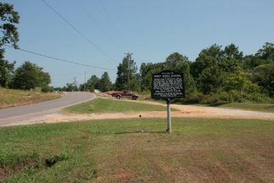 Piney Ridge School Marker (North View) image. Click for full size.