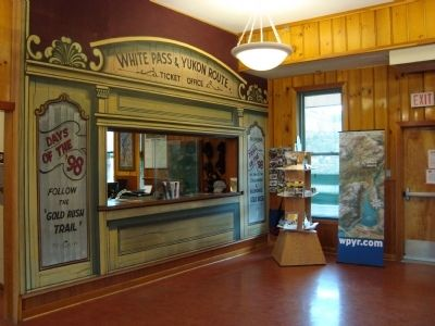 White Pass and Yukon RouteTicket Office image. Click for full size.