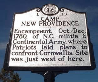 Camp New Providence Marker image. Click for full size.