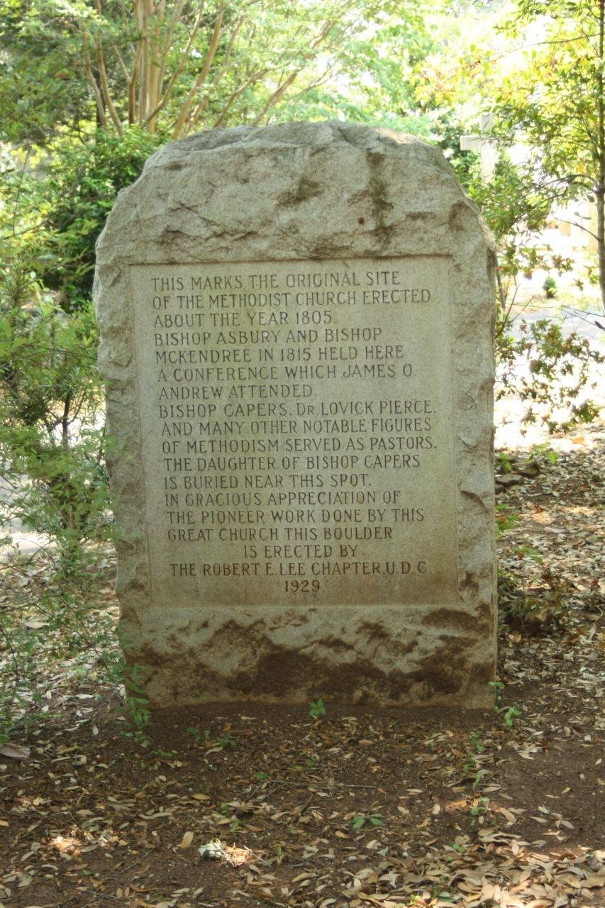 The Methodist Church Marker