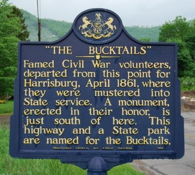 The Bucktails Marker image. Click for full size.