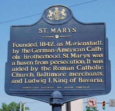 St. Marys Marker image. Click for full size.