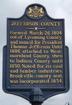 Jefferson County Marker image. Click for full size.