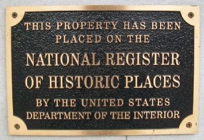 Haas Building NRHP Marker image. Click for full size.