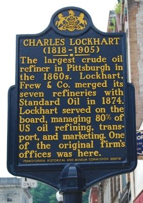 Charles Lockhart Marker image. Click for full size.