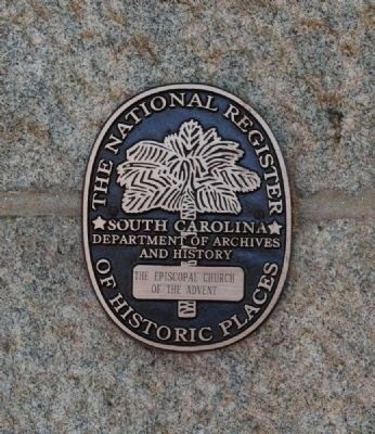 Church of the Advent -<br>National Register Medallion image. Click for full size.