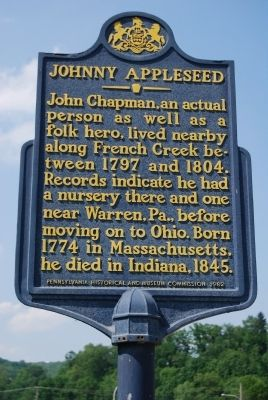 Johnny Appleseed Marker image. Click for full size.