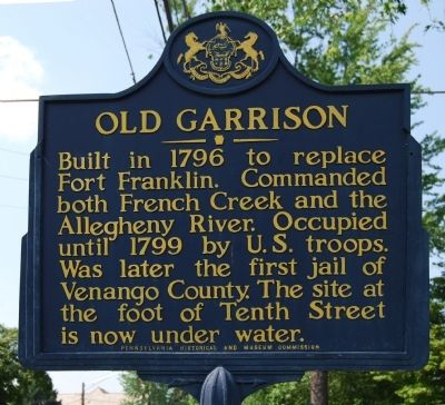 Old Garrison Marker image. Click for full size.