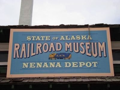 State of Alaska Railroad Museum, Nenana Depot image. Click for full size.