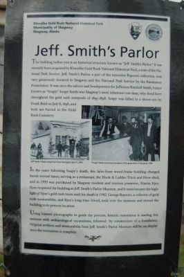 Jeff. Smith's Parlor Marker image. Click for full size.