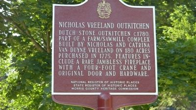 Nicholas Vreeland Outkitchen Marker image. Click for full size.