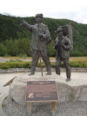 Skagway Centennial Statue image. Click for full size.