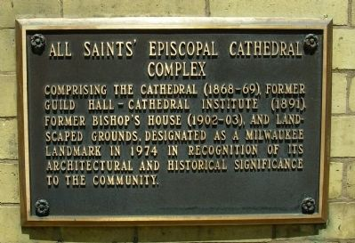 All Saints Episcopal Cathedral Complex Marker image. Click for full size.