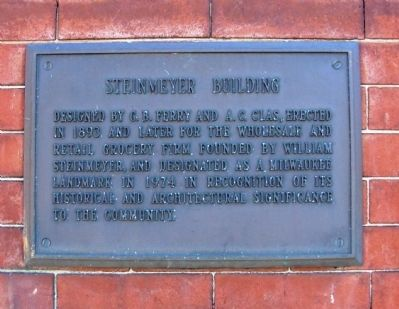 Steinmeyer Building Marker image. Click for full size.